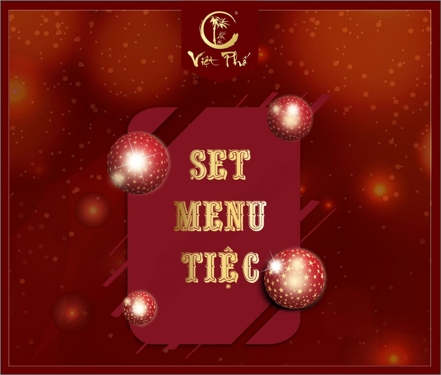 SET MENU  TIỆC